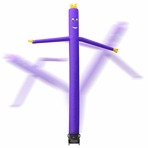 Inflatable HQ 20 ft. Tall Air Inflatable Dancer Tube Puppet Set with Blower Fan - Purple Photo #2