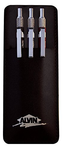 Alvin, Draft-Matic Mechanical Pencil, Set of 3, 0.5mm, 0.7mm and 0.9mm