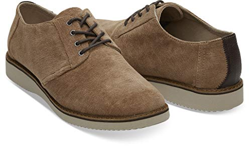 TOMS Mens Preston Casual Loafers & Slipons Shoes Brown 9 ()