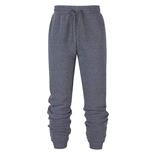 spyman 2019 Brand Male Trousers Casual Pants Sweatpants Jogger Black Casual Elastic Cotton Fitness Workout Pants S-XXXL,Dark Grey,S
