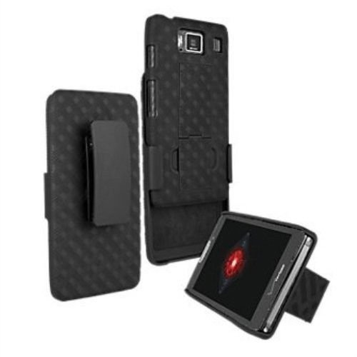 cheap for discount 4dc9a 50c8b Shell Belt Clip Holster Combo Case and Kick Stand for VZW Motorola Droid  Razr MM XT907 Razr M XT 907