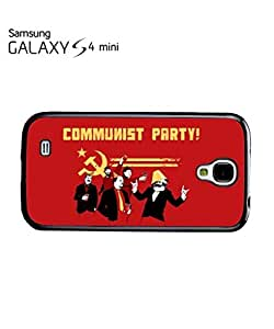 Communist Party Banksy Mobile Cell Phone Case Samsung Galaxy S4 Mini White