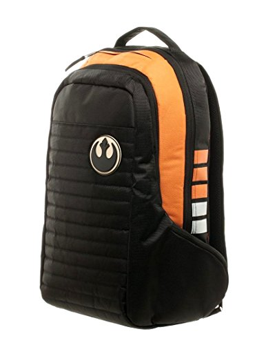 Dlx Star Wars Squadron Pilot Backpack Rebel Alliance Laptop School Bag Licensed -