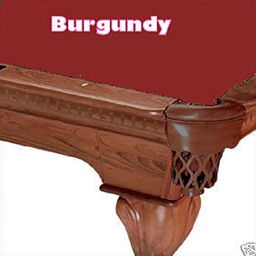 Simonis 8′ Cut 760 Pool Table Cloth Color: Burdundy