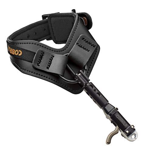 Cobra Archery Premier Double Caliper Triple Joint Adjust Black Leather
