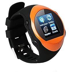 Generic Bluetooth Smart Watch Color Orange