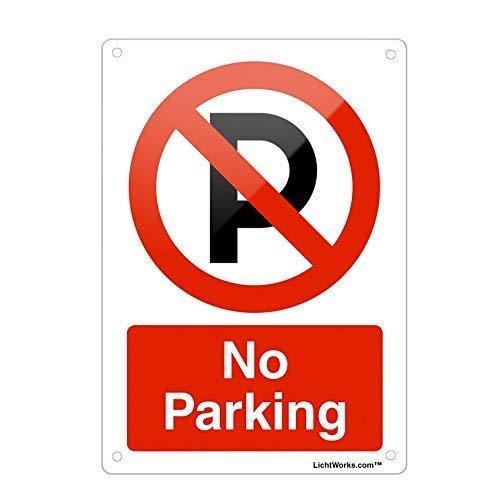 Vivityobert Señal de Advertencia Aluminio Prohibido, señal de ...
