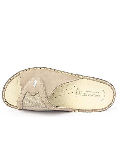 Grünland DARA CE0332 zapatillas de color topo señora Tear plantilla extraíble Taupe