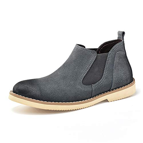 Scarpe Ancient British Da Ways Cricket Uomo Grigio Restoring Mid Classic Casual Shoes Stivali top Work Chelsea SOwqUU