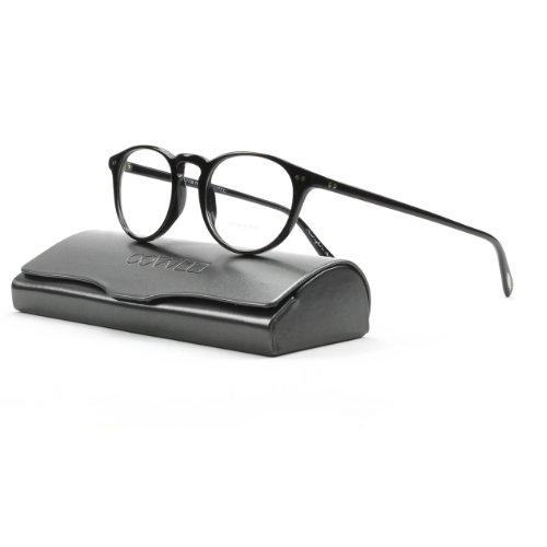 Oliver Peoples 5004 Riley R Eyeglasses 1005 Black with Cl...