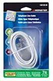 CORD PHONE LINE 7' WHT by MONSTER JHIU MfrPartNo 140138-00