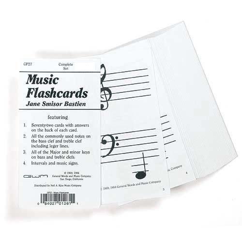 - Flashcards: General Music by Jane Bastien