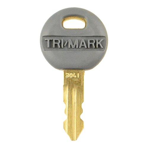Tri-Mark 16169-02-3041 Key for Paddle Latch or Twist Lock (Key Lock Trimark)