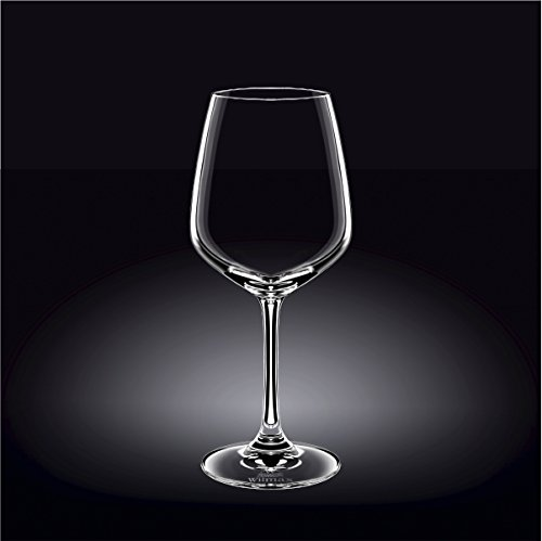 Wilmax 888019 510 ml Wine Glass Set of 644; Pack of 4 by Wilmax