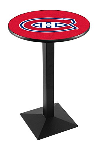 Holland Bar Stool L217 NHL Montreal Canadiens Officially Licensed Pub Table, 28