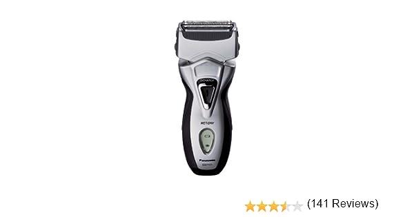 Panasonic ES7101 - Afeitadora eléctrica (húmedo y seco), color negro y plateado: Amazon.es: Salud y cuidado personal