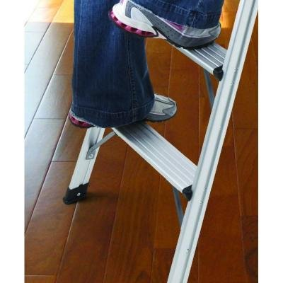4-Step Ultra-Light Aluminum Step Stool Ladder with 225 lb. Load Capacity by Gorilla Ladders (Image #2)