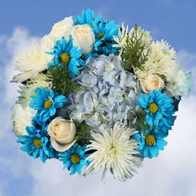 2 Bouquet Christmas Hannukah |Flower Arrangement for the Holiday's