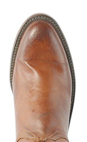 Lucchese HL6501.8R Bonnie Womens Tan BRN Ranch Hand Leather Cowboy Western Boots YhuPAzm7