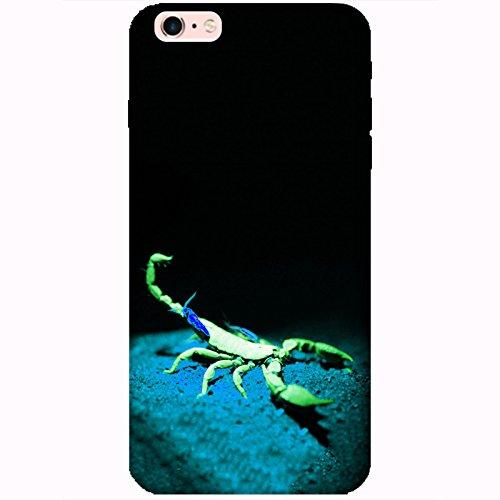 Coque Apple Iphone 6 Plus-6s Plus - Alien Scorpion Vert