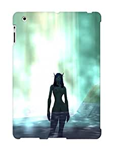Appearance Snap-on Case Designed For Ipad 2/3/4- World Of Warcraft Elves Waterfalls (best Gifts For Lovers)