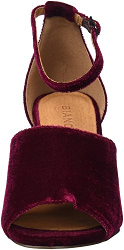 Ankle Women's Strap Red SAMT Party Sandals 40 Winered Bianco qawnBAtOw