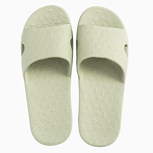 la zapatillas antideslizante gris 41 37 y zapatillas verde 40 de azul 35 luz baño Planta cubierta qStwOO