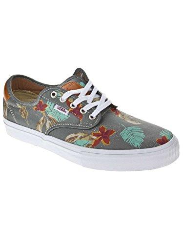 Zapatillas De Deporte Vans Chima Ferguson Pro Twill Navy Para Hombre (aloha) Gris Claro