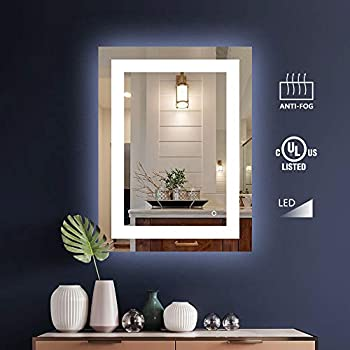 Amazon Com D Amour 36x36 Led Bathroom Mirrors For Wall