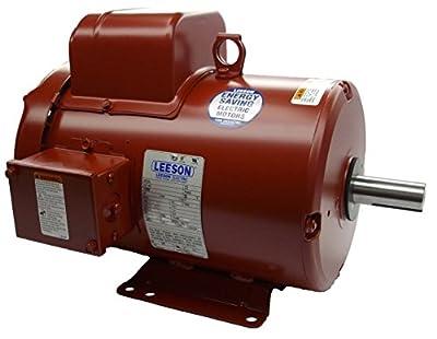 3 hp 1740rpm 182T Frame TEFC (Farm Duty) 230 volts Leeson Electric Motor # 131542