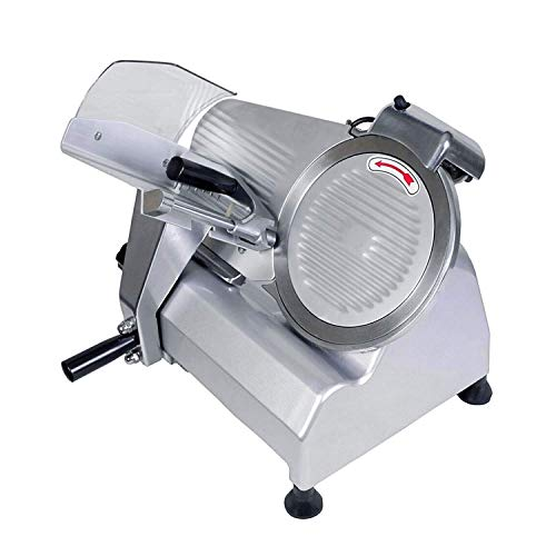 BestEquip Commercial Food Slicer 10 inch Blade 530 RPM Commercial Electric Meat Slicer 240W for Commercial and Home Use by BestEquip (Image #5)