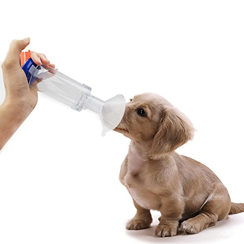 Cat/Dog Aerosol Inhaler Spacer Chamber, Medical Veterinary