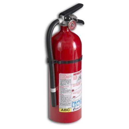 Fire Extinguisher Abc Kidde (Kidde 21005779 Pro 210 Fire Extinguisher, ABC, 160CI, 4 lbs, 2 Pack)