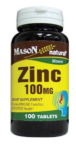 Mason Vitamins Zinc 100 Mg