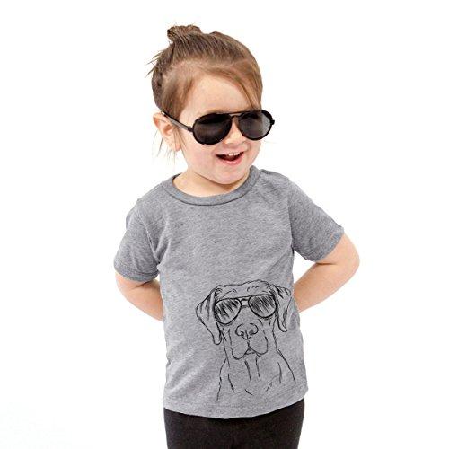 Inkopious Rowdy The Labrador Retriever Baby Unisex Boy Girl Kids Crewneck 12 to 18 Months Grey