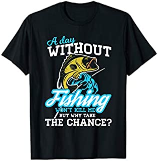 Cool Gift Fishing  Going Without Fishing Funny Fishing Quote Funny Women Tee Shirt / Navy / S - 5XL