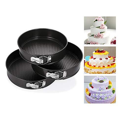 1 Set 7inch Mini Springform Pan Carbon Steel Baking Pan Non-stick Mini Cake Pan Round Bakeware Mini Cheesecake -