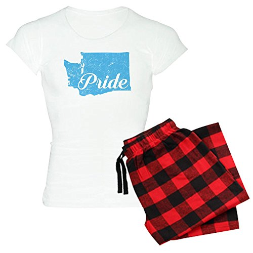 CafePress Washington Pride - Womens Novelty Cotton Pajama Set, Comfortable PJ Sleepwear