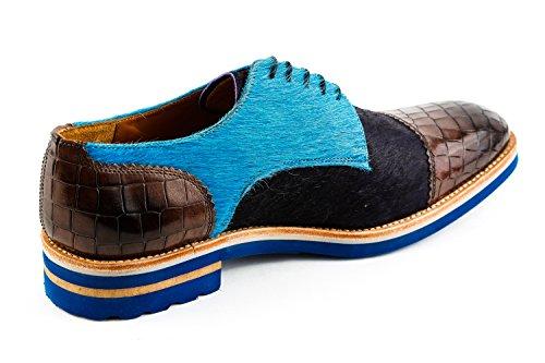 Uomo Blu Blau Scarpe MH15 amp; Stringate Melvin 1086 Hamilton U6wqYA7F