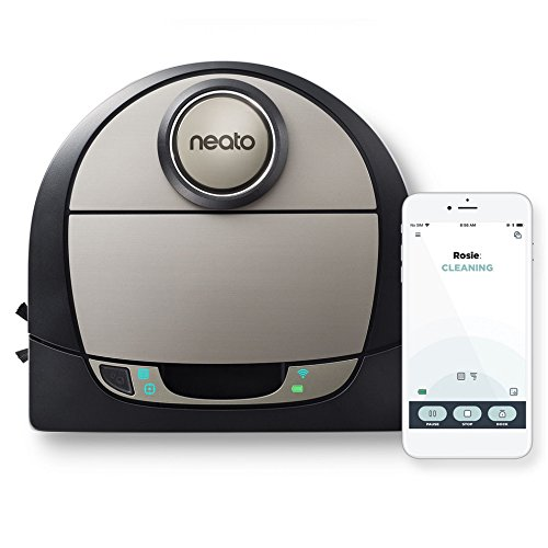 Neato Robotics D7 Connected Wi-Fi Enabled Robot Vacuum, Compatible with Amazon Alexa by Neato Robotics