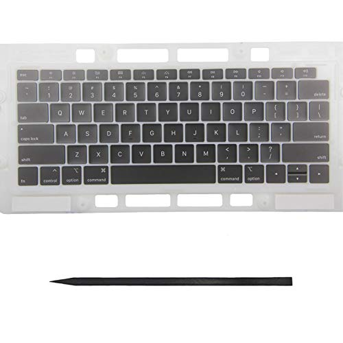 """Bfenown Replacement Key Cap Set US Keyboard Keycaps Keys QWERTY for MacBook Pro Retina 13""""/15"""" MacBook Pro Retina 13"""" 15"""" A1989 A1990 A1932 2018-2019 Year"""