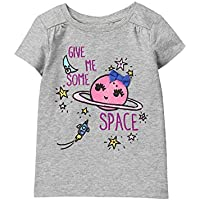 Gymboree Toddler Girls' Easy Li'l Short Sleeve Graphic Tee