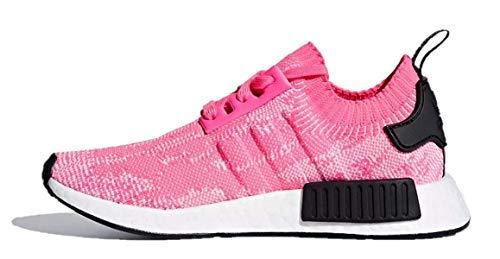 3e34b86114919 Galleon - Adidas Originals Women s NMD R1 PK Primeknit Solar Pink Solar Pink CORE  Black AQ1104 (10 US)
