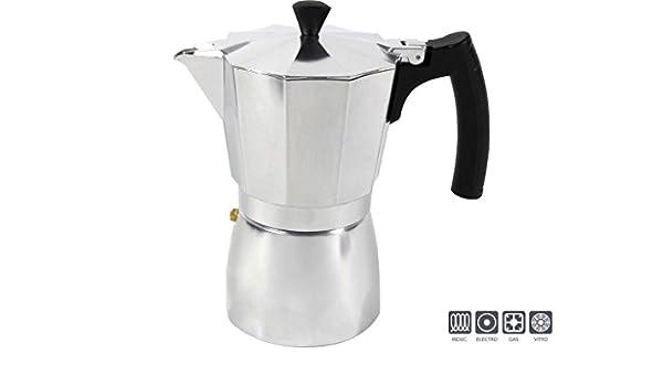 Ideal casa 2454140031 - cafetera de Aluminio Imola 9 Tazas ...