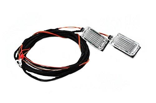 Original Kufatec Kabel Kabelbaum SET Nebelscheinwerfer für Skoda Octavia II 1Z