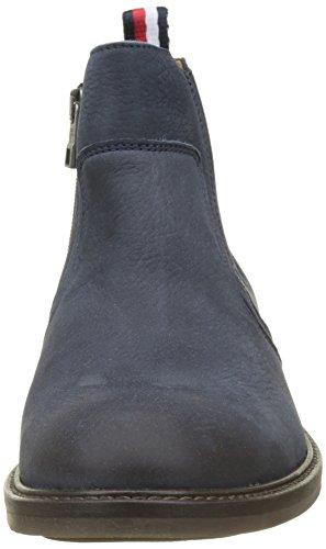 Tommy Hilfiger Herren R2285ounder 2n Chelsea Boots Blau (Midnight)