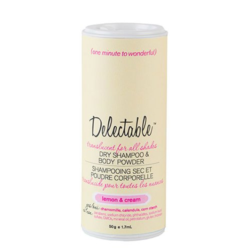Delectable by Cake Beauty Body Powder, Lemon and Cream, 50g Cake Beauty Inc. C421