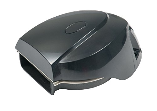 AFI 10098 MiniBlast Marine Compact Deck Electric Horn (Black)