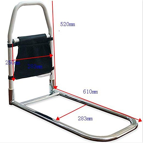 Bed Rails for Elderly Adults - Medokare Hospital Grade Safety Bed Rail for Seniors, Bed Side Handrail, Senior Adult Hand Rail for King Queen Twin Size Bed, Handicap Bed Assist Rail (Bed Rail 3)