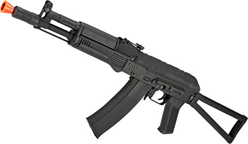 Evike CYMA Stamped Metal AK-104 w/Folding Stock Airsoft AEG Rifle -